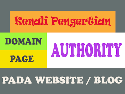 Kenali Pengertian Domain Authority dan Page Authority pada Website atau Blog