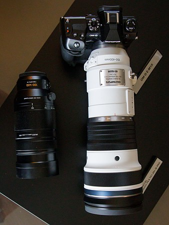 Olympus M.Zuiko 150-400mm f/4.5 TC1.25x IS Pro