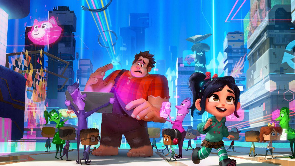 RALPH ROMPE INTERNET - pelicula Disney