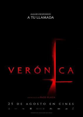 VERÓNICA - La nueva película de terror de Paco Plaza - Cartel