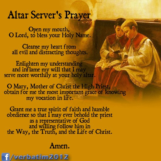 A Catholic Life: History and Graces received from Altar ...