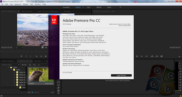 Download Adobe Premiere Pro CC 2015 v.9.0 Terbaru Full Version
