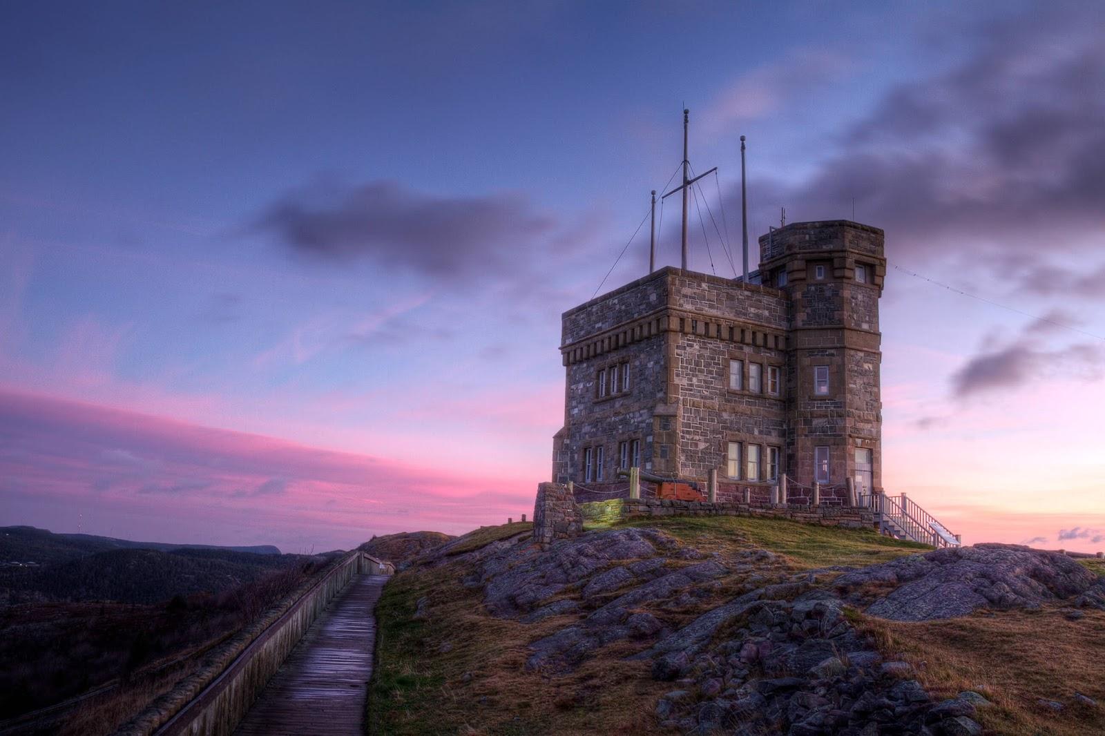 cabot tower_newfoundland_Canada