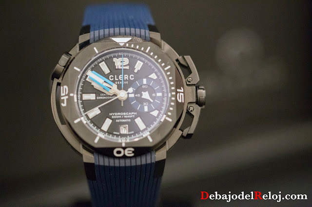 Clerc Hydroscaph Central Chronograph Small Second3