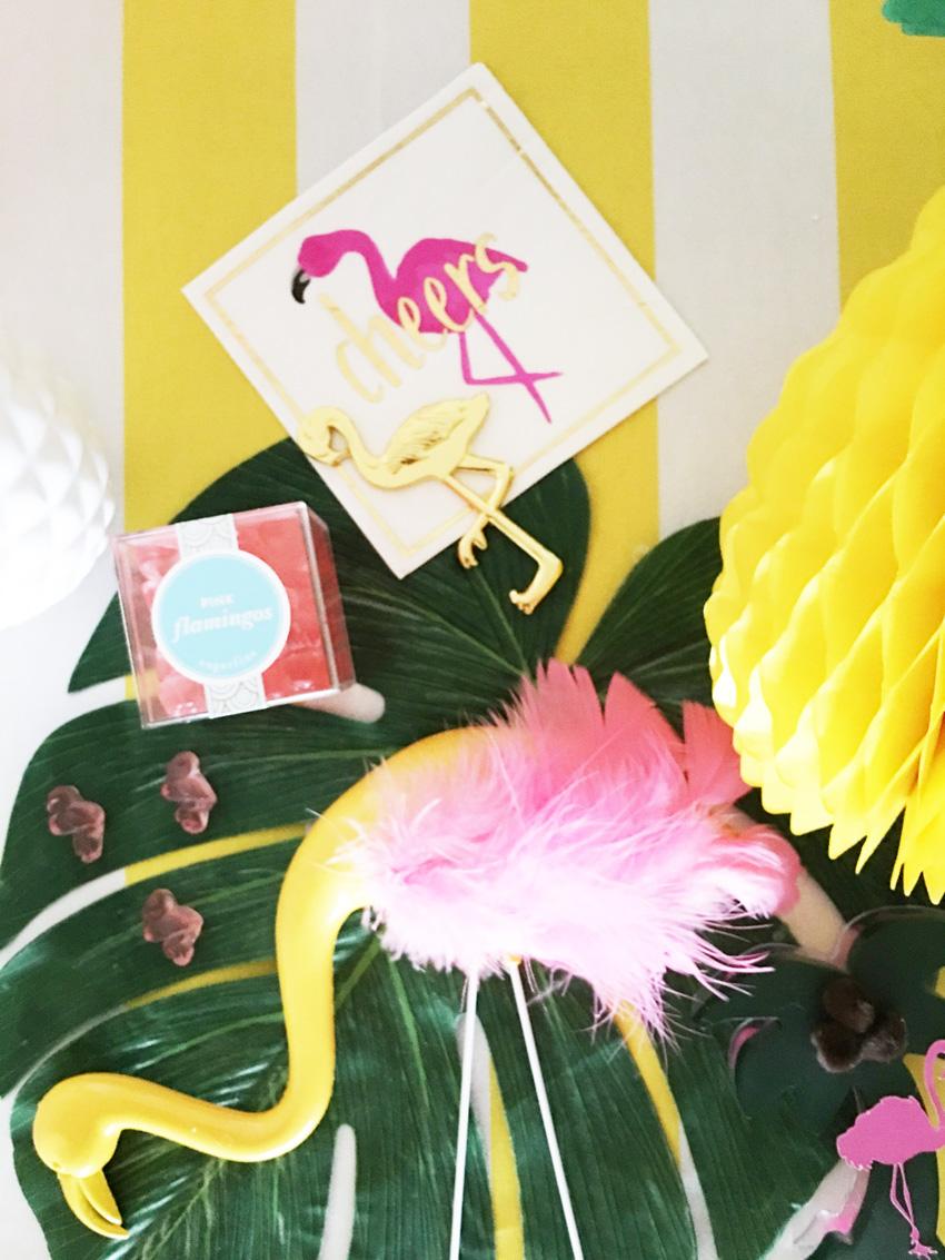 Bellagrey Designs Tropical Flamingo Fest