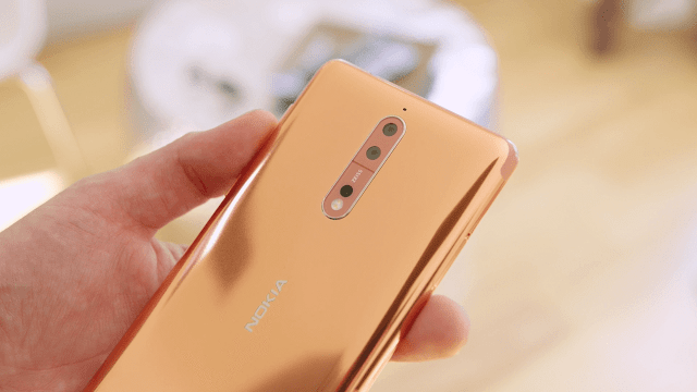 Nokia 8 Copper