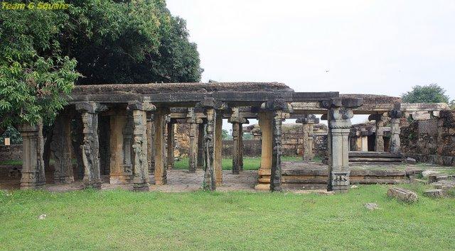 Pillared Kalyana Mandapa, Udayagiri