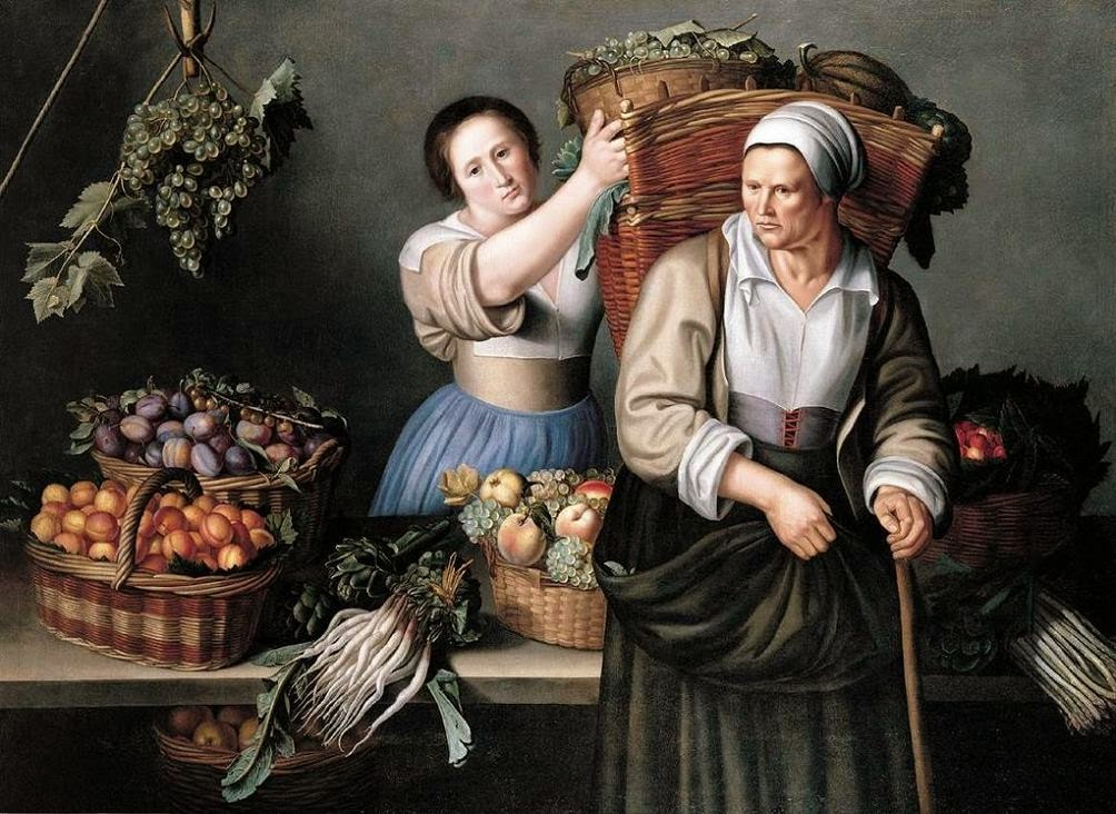 At The Market Stall, Louise Moillon