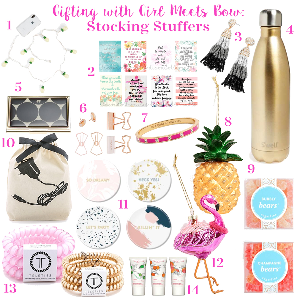 Gifting with Girl Meets Bow: Stocking Stuffers + $1000 Giveaway!