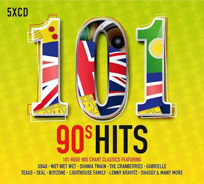 101 90s Hits 2017 5CD Mp3 V Kbps