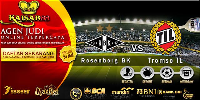 Prediksi Bola Jitu Rosenborg BK Vs Tromso IL 7 juli 2018