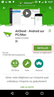 application Airdroid apk