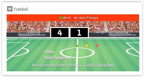 futebol ao vivo aposta online