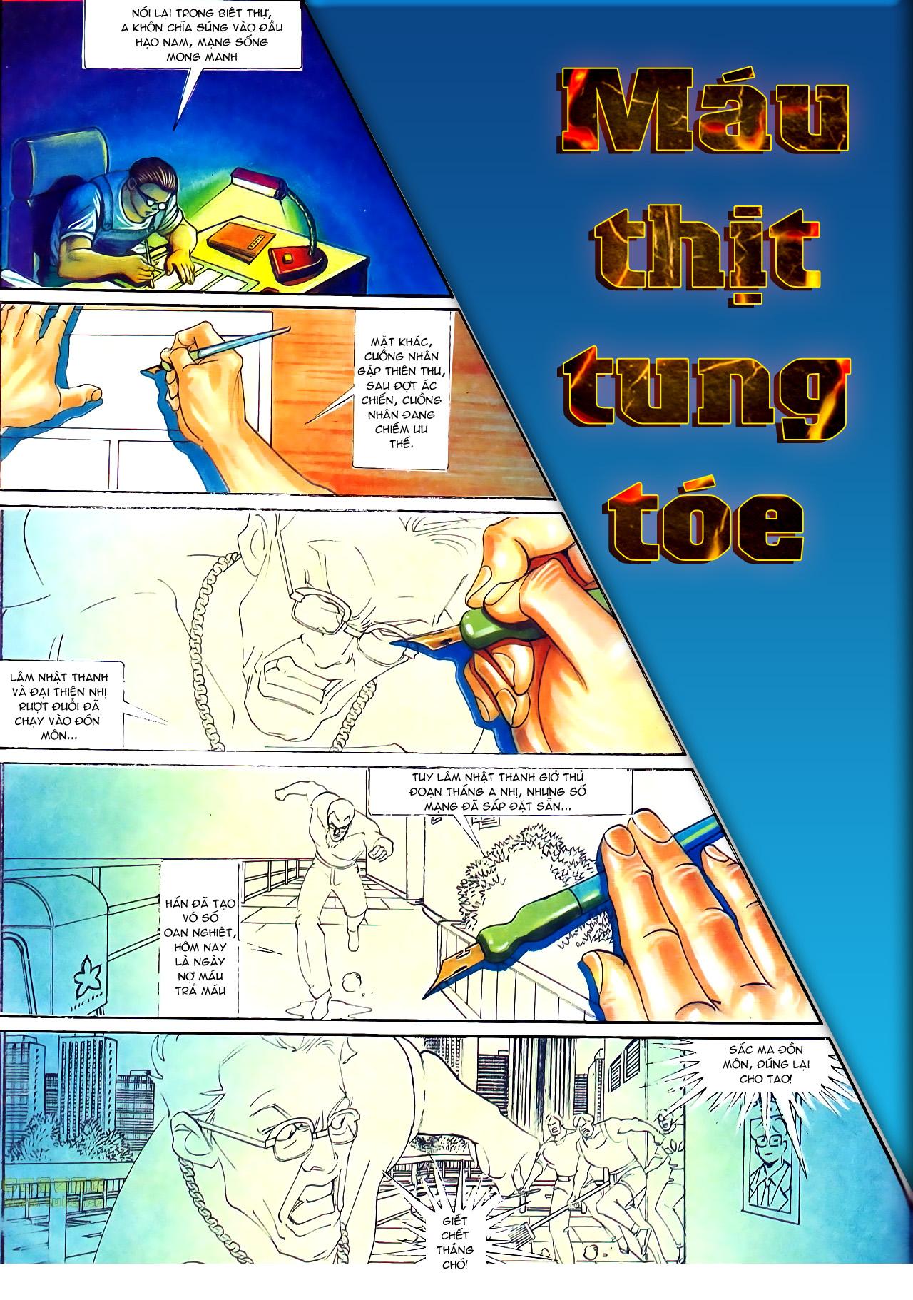 Người Trong Giang Hồ chapter 145: máu thịt tung tóe trang 3