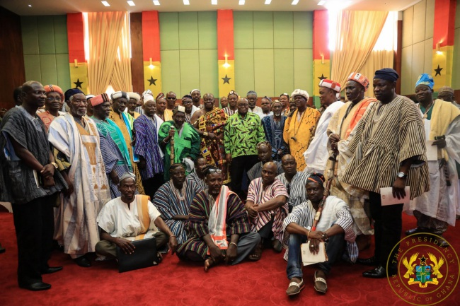 """Time To Restore Dagbon To Its Former Glory"" – President Akufo-Addo."