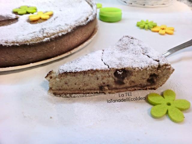 Fetta di torta di pasqua