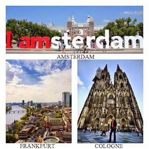 FRANKFURT – COLOGNE – AMSTERDAM