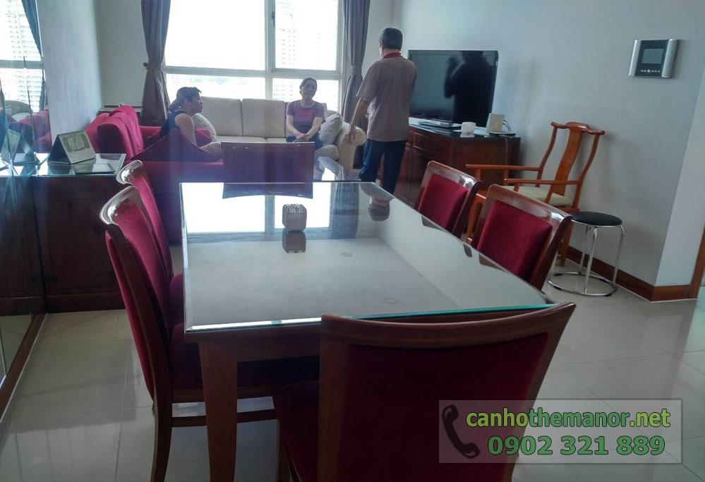 Bán căn hộ The Manor 3 phòng ngủ full nội thất - hình 4