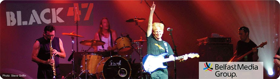 Larry Kirwan of Black 47