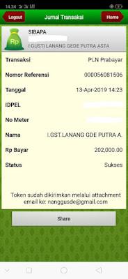 Cara Membeli Pulsa Listrik Dengan Menggunakan Mobile Banking BPD Bali