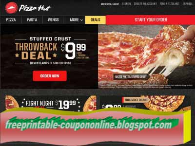 Pizza hut online coupons february 2019