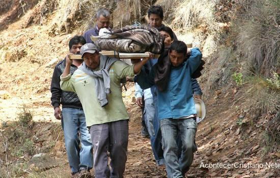 Trasladan de un cristiano asesinado en México