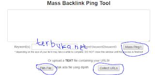 Cara ping backlink