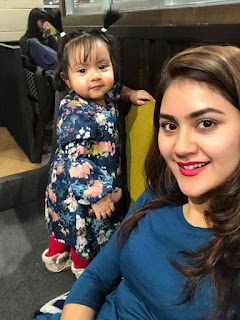 Shaina Amin with her Daughter