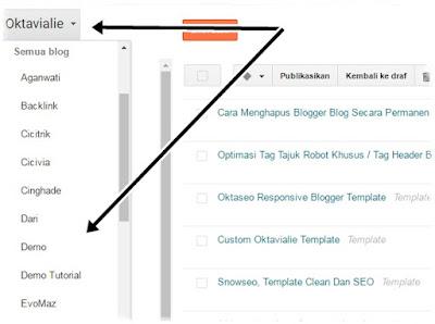 Cara Menghapus Blogger Blog Secara Permanen