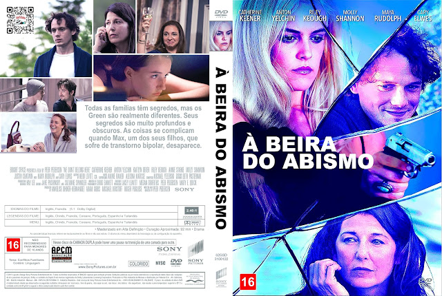Capa DVD À Beira do Abismo [Exclusiva]