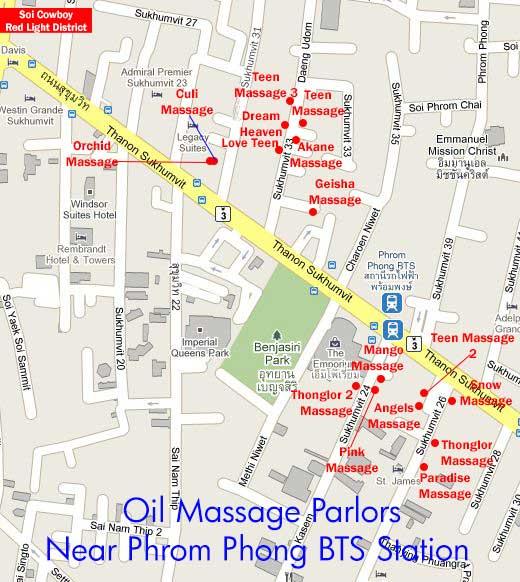 asian massage map