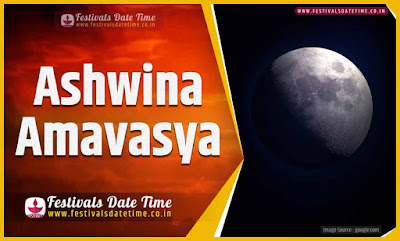 2024 Ashwina Amavasya Date and Time, 2024 Ashwina Amavasya Festival Schedule and Calendar