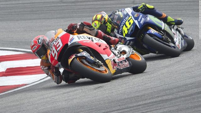 Marquez : Saya Tak Mau Sepelekan Rossi