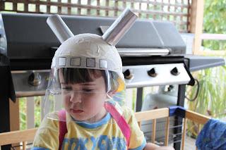 astronaut helmet craft preschool - photo #25