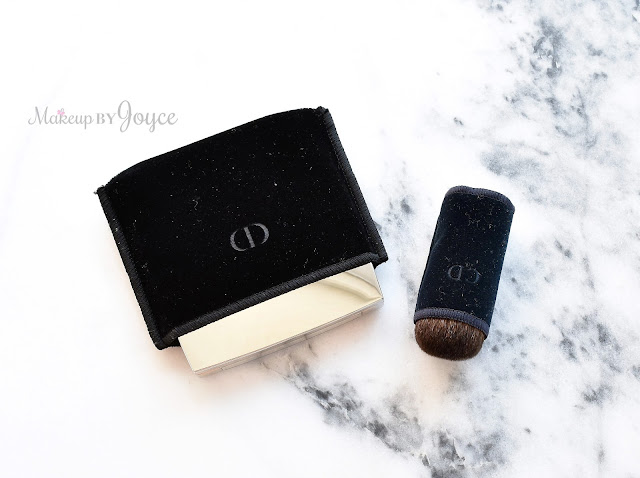 Dior Intemporalle Blush Palette 004 Pink Review Velvet Brush Pouch