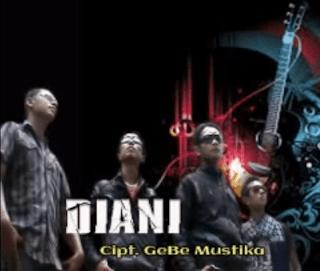 Lirik Lagu Diani - GeBe Mustika