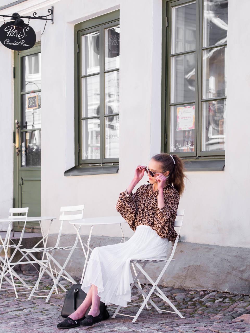 How to wear leopard print - Kuinka pukeutua leopardikuvioon