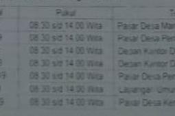 Jadwal Samsat Keliling Tabanan April 2019