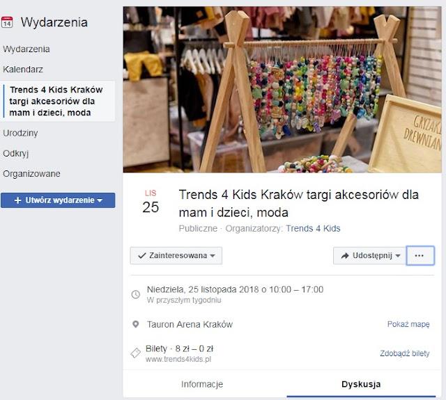 targi trends 4 kids wydarzenie na facebook