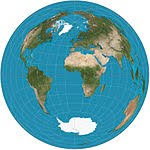 azimuthal map projection