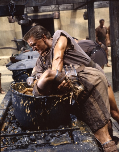 Doctor Ojiplático. 'Spartacus': Behind the Scenes
