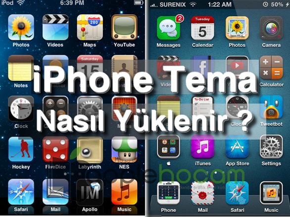 iOS 9.3 ve iOS 9.3.1 Jailbreak Gerek Duymadan Tema Yükleyin !