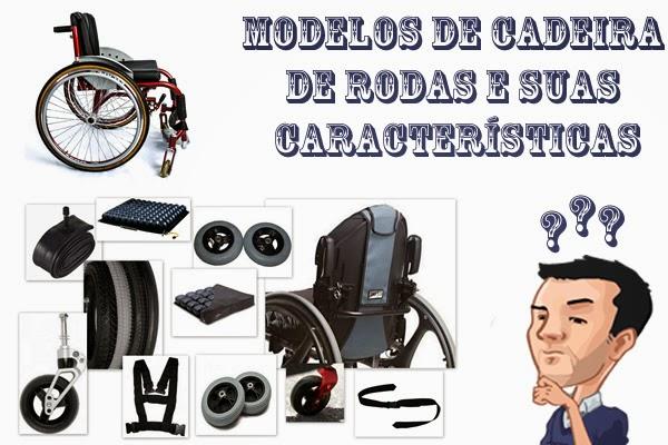 Modelos de Cadeira de Rodas e suas Características