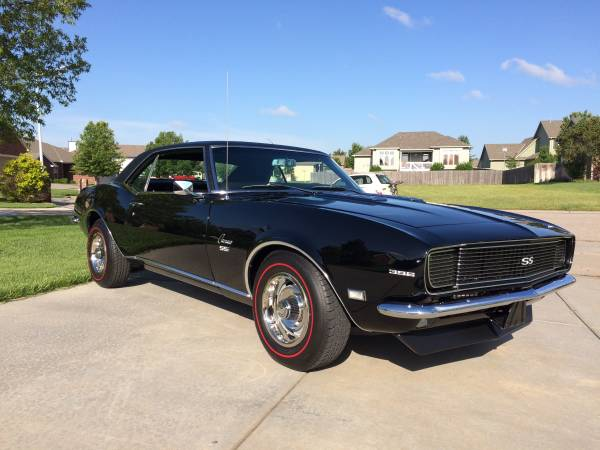 1968 camaro rs ss for sale buy american muscle car. Black Bedroom Furniture Sets. Home Design Ideas
