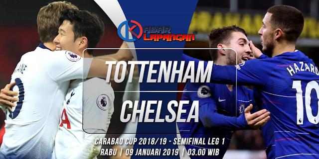 Prediksi Tottenham Hotspur vs Chelsea Carabao Cup 2019