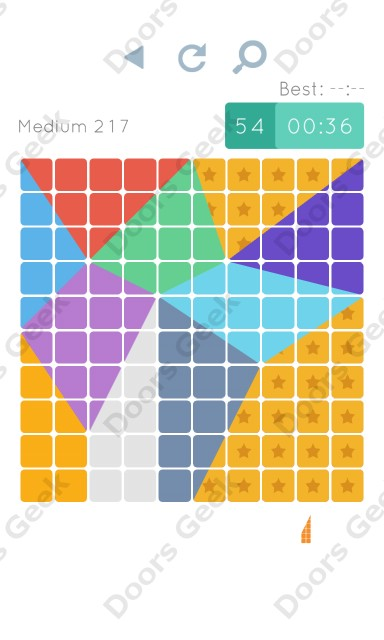 Cheats, Walkthrough for Blocks and Shapes Medium Level 217