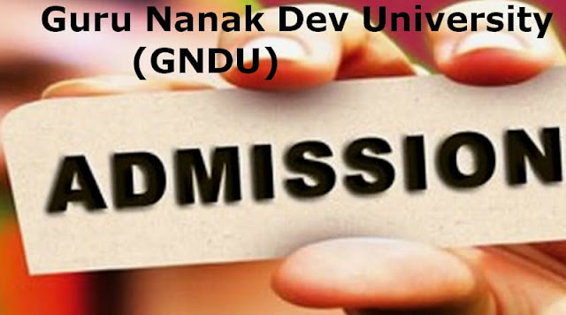 GNDU Admissions
