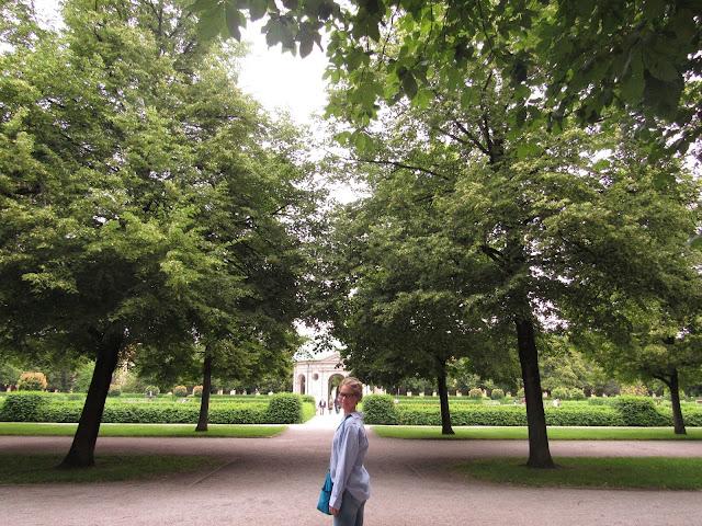 Hofgarten ou Jardim da Corte O que ver em Munique Alemanha