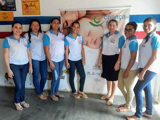 Prefeitura de Olho d' Água do Casado amplia  atendimento do Programa Criança Feliz de 100 para 200 famílias casadenses
