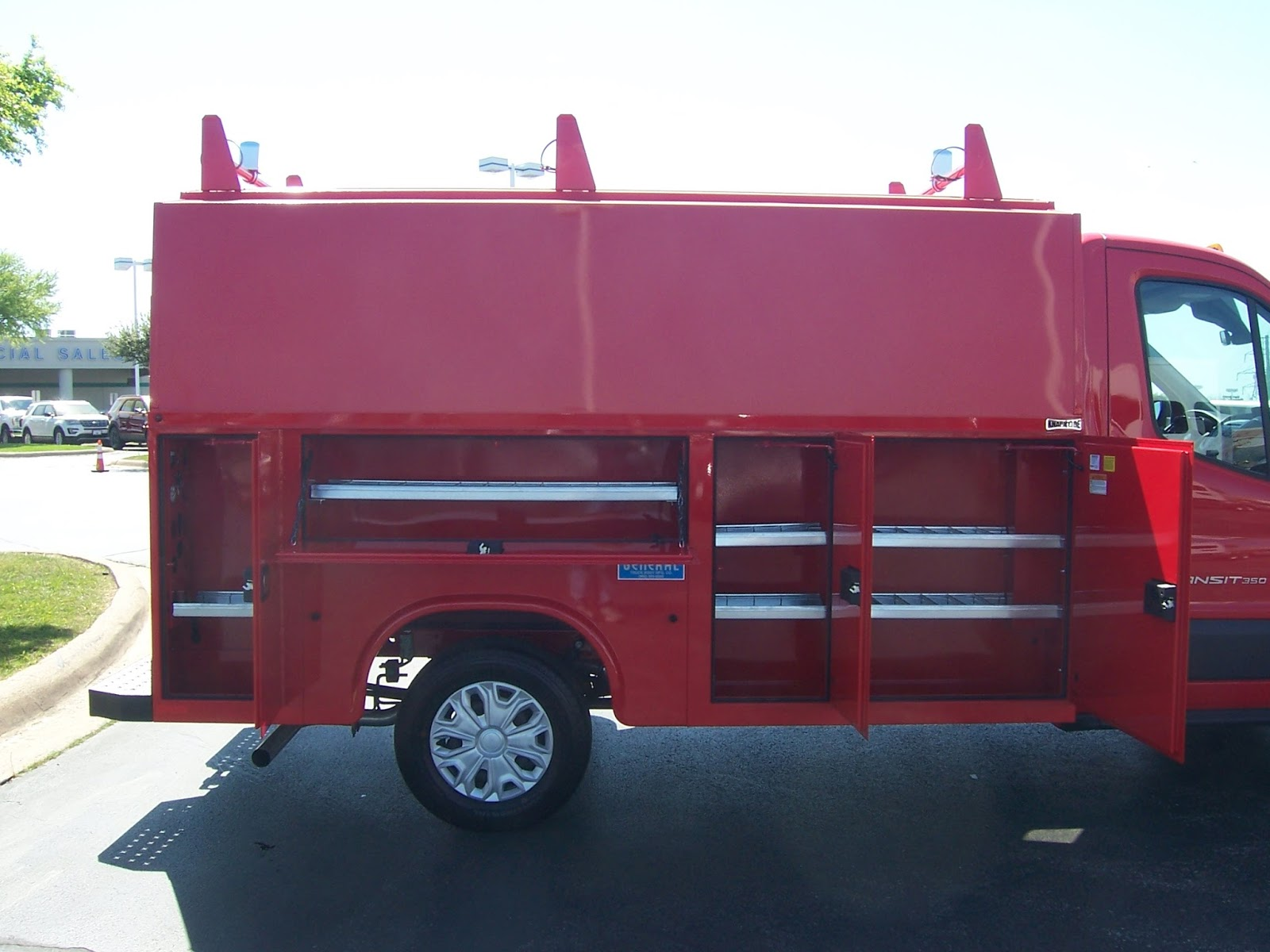 Beautiful At Commercial Truck Success, We Love Red Trucks. Actually, We Like All  Colors